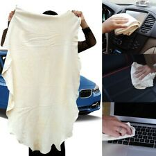 Natural Chamois Leather Car Cleaning Cloth Washing Towel Drying Absorbent N W5Y2