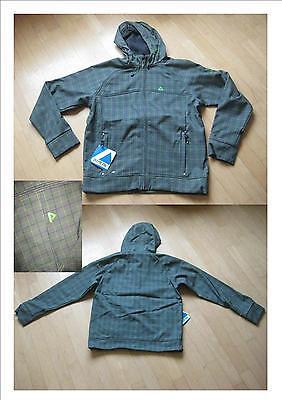 Initiative Super Softshell Jacke In Grau/grün Gr Herrenmode Kleidung & Accessoires M Neu Top!!