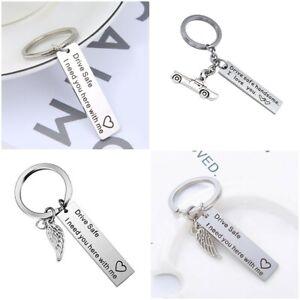 Hot-Sale-034-Drive-Safe-034-Fashion-Trucker-Keyring-Keychain-Gift-For-Husband-Boys