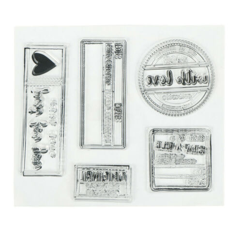 just for you Transparent Clear Stamps for DIY scrapbooking cards De NR