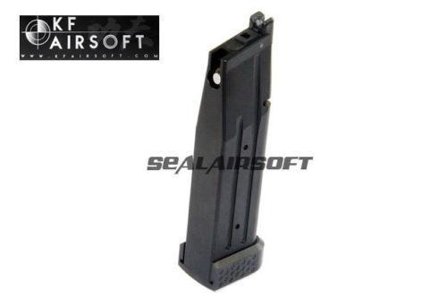 KUNG FU Airsoft Giocattolo CNC tuttiuminio MAGAZINE con base per TM HICAPA SERIE NERO