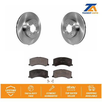 Fits 1999-2001 Suzuki Esteem Front Drill Slot Brake Rotors+Ceramic Pads
