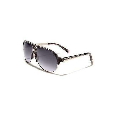80s Mens Womens Vintage Retro Classic Fashion Designer Aviator Sunglasses White