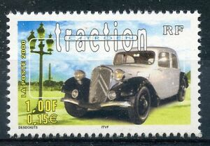 STAMP-TIMBRE-FRANCE-NEUF-N-3318-VOITURE-CITROEN-TRACTION