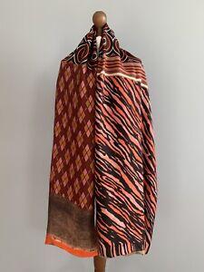 Pierre-Louis Mascia pure Silk Modal scarf wrap 100% authentic original