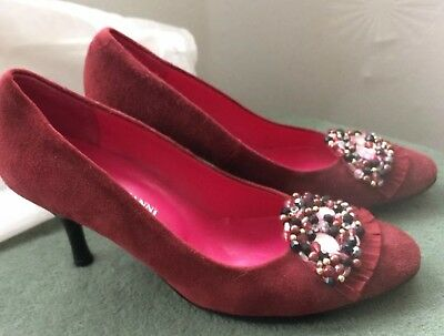 Dusky Pink Suede Stilettoes Special