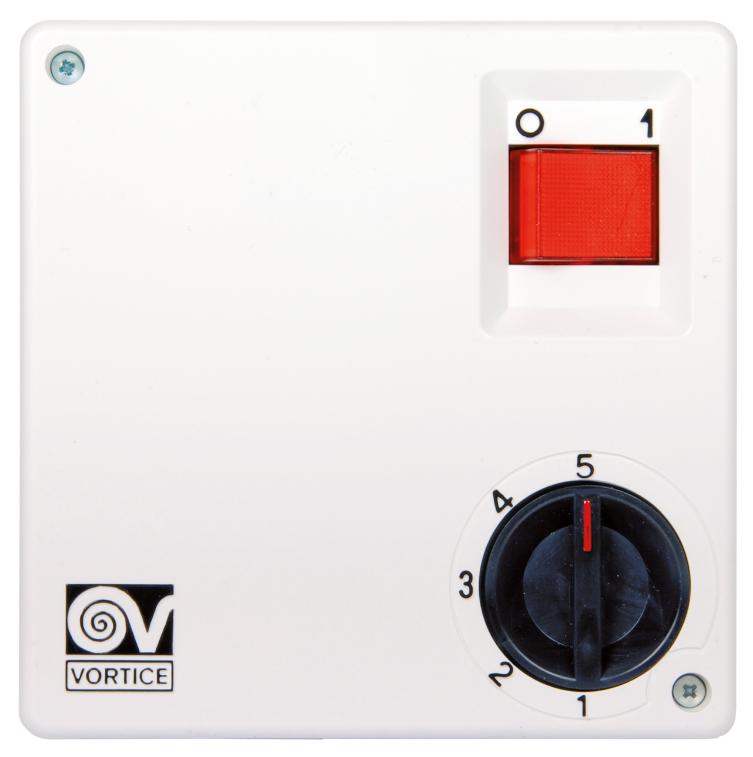Vortice Stufentrafo   Wandschalter   Drehzahlregler SCNR5 oder SCNR5-CA     | Authentisch  | Perfekte Verarbeitung  | Toy Story