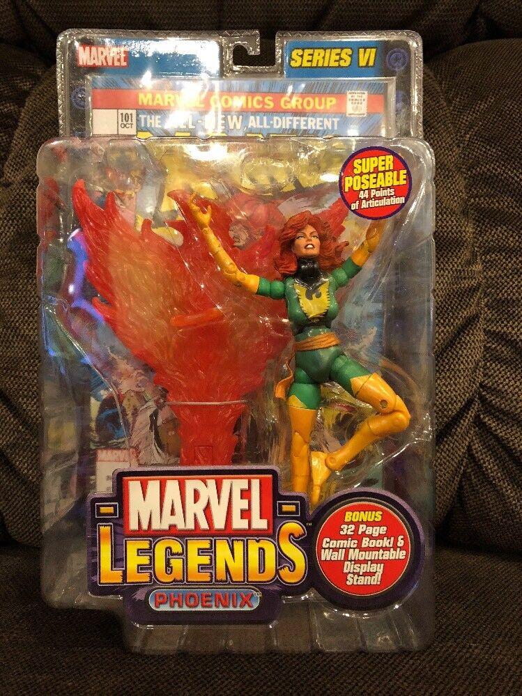 2004 ToyBiz Marvel Legends 'PHOENIX' Action Figure Series VI
