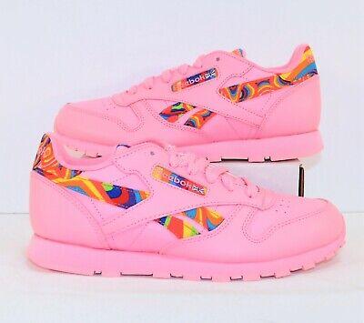 Reebok Classic Leather GS Pink \u0026 Multi