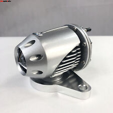 Emusa Ssqv Bov Adapter Flange Amp Silver Blow Off Valve For 02 07 Wrxsti Fits 2002 Wrx