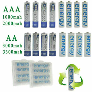 BTY-4-8-16-20pcs-1-2V-AA-AAA-NI-MH-800-2000-3000-3300mAh-Rechargeable-Battery