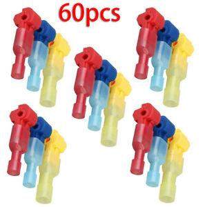 60pcs-Set-Pinze-Elettrico-Cavi-Connettore-Clip-Terminale-Rapido-Kit-Strumenti