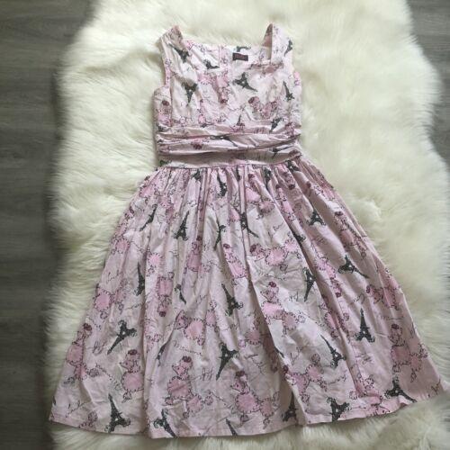 Fluffer 1950s Retro Vintage Dress Large L A Line R