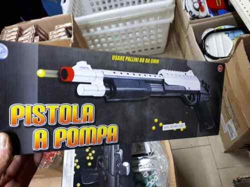fucile mitra pistola giocattolo ridotta x bimbi spara gioco di qualita toy w40