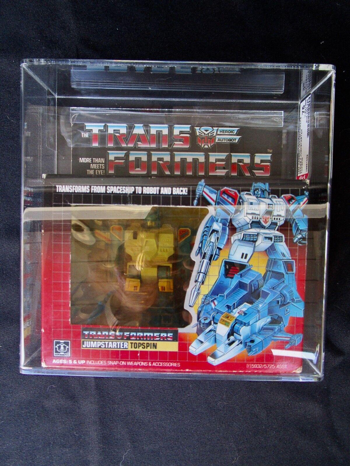 1985 personaggi Transformers autorità JUMPestrellaTER TopSpin SIGILLATO Nuovo di zecca in scatola sigillata scatola Nuovo di zecca con scatola