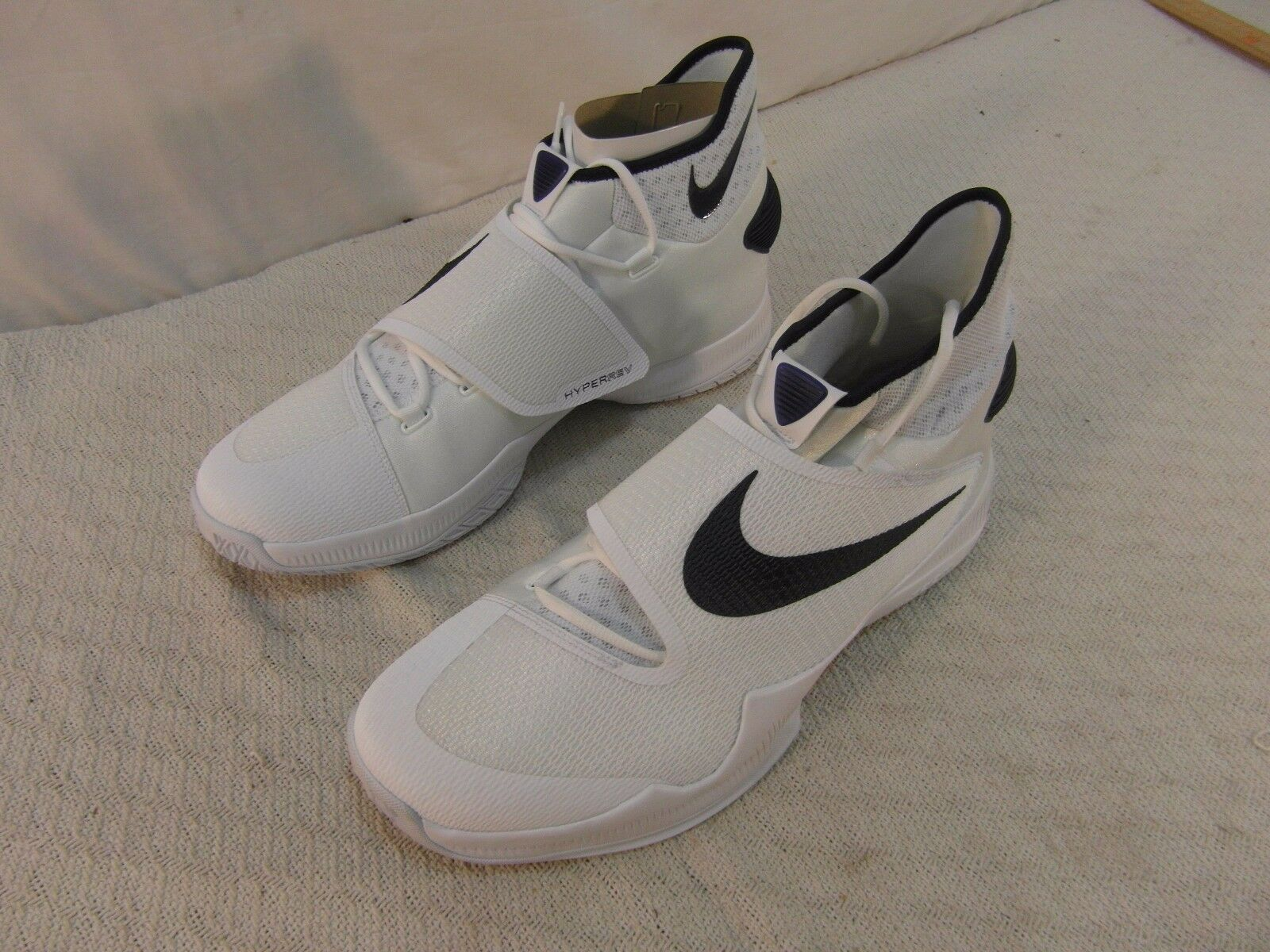 Adult Men's Nike Zoom Hyperrev 2018 TB White bluee bluee bluee 18 Athletic Lace Up shoes 2569a0