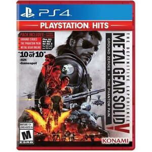 Metal Gear Solid V: The Definitive Experience PS4 (Sony PlayStation 4, 2016)