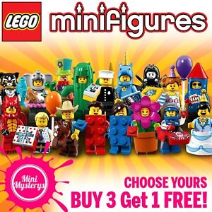 LEGO-Minifigures-Series-18-Party-71021-1-17-CHOOSE-YOURS-BUY-3-GET-1-FREE