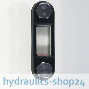 Hydraulik Ölschauglas Ölstandsanzeige Lochabstand 254 mm