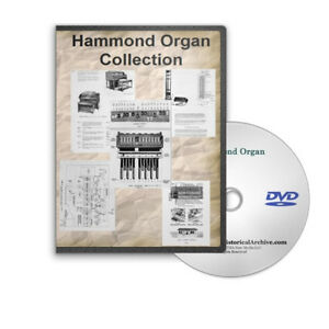 Hammond-Organ-21-Vintage-Service-Repair-Restoration-Brochures-Manuals-DVD-C779