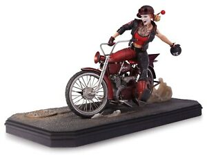 Statue Harley Quinn Gotham City Garage Dc Collectibles