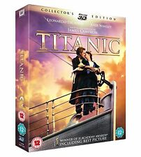 TITANIC 3D [Blu-ray 3D + Blu-ray] Collector's Edition 4-Disc Set Collection