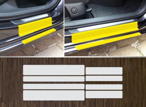 2008-2015 Lackschutzfolie transparent Einstiege Türen passgenau für Audi A4 B8