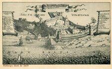 AK/Vintage postcard: Visborgs Slott ar 1679 (ca. 1940er)