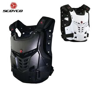 Scoyco Motorcycles Motocross Chest Back Protector Armor Vest Racing Protector