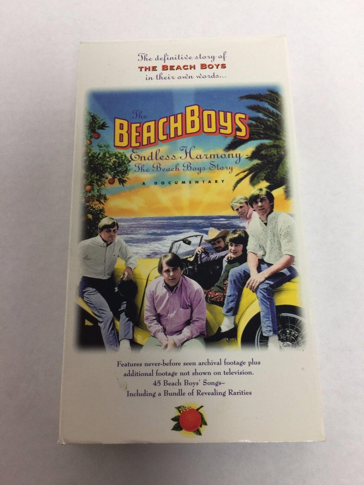 The Beach Boys - Endless Harmony VHS Video Documentary