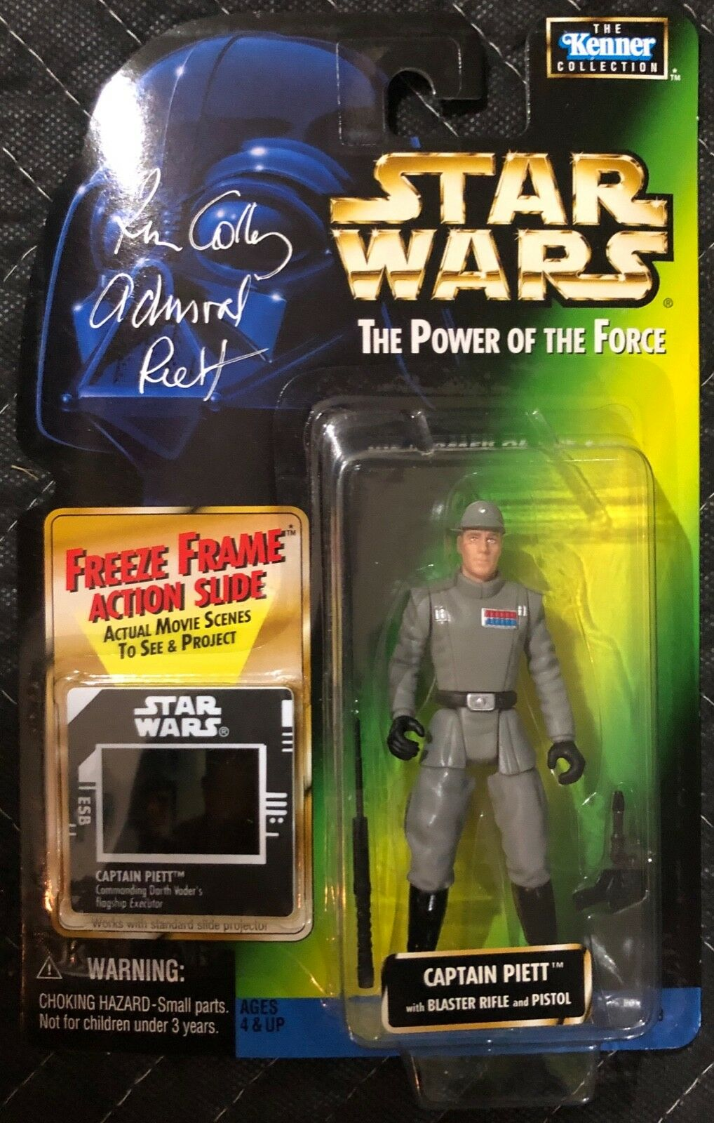 Autographed Power Of The Force Captain Piett signed by by by Kenneth Colley Unopened 7d4e18
