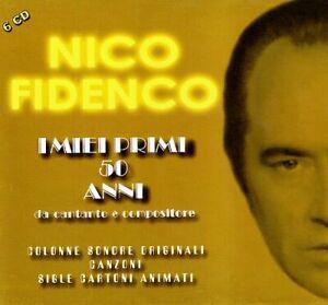 907043 1863160 Audio Cd Nico Fidenco - I Miei Primi 50 Anni (6 Cd)