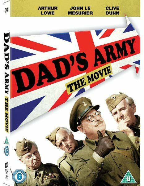 Dad's Army The Movie (Arthur Lowe, John Le Mesurier) R4 DVD New Dads Army