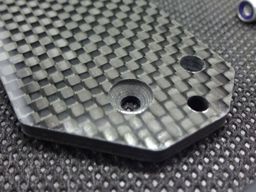 Steering Kit Tamiya Clodbuster//Clod Carbone servo plaque avec Linkage