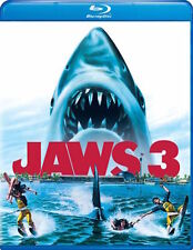 JAWS 3 BLU-RAY - SINGLE DISC EDITION - NEW UNOPENED - DENNIS QUAID
