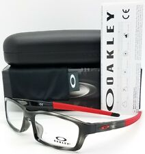 3937645736 item 6 NEW Oakley Crosslink Youth RX Prescription frame Grey Red  OX8111-0753 53mm Cross -NEW Oakley Crosslink Youth RX Prescription frame  Grey Red ...