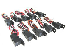 Qty 10 Starter Kill Relay Base and Wiring With Diode Add Immobilizer Harness Relay Wiring Yh on