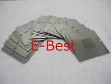 New 80mm 27 pcs ATI BGA Reballing stencils templates 215-0719090 9000 9100 9200