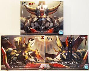 Bandai-model-kit-HG-1-144-Mazinger-Z-Great-Mazinger-Grendizer-Infinity-NUOVI