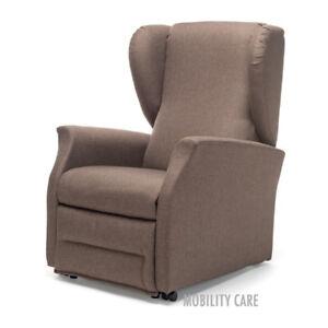 Poltrone Relax Per Anziani.Offerta Poltrona Relax Ek 91 Reclinabile Alzapersona Motorizzata