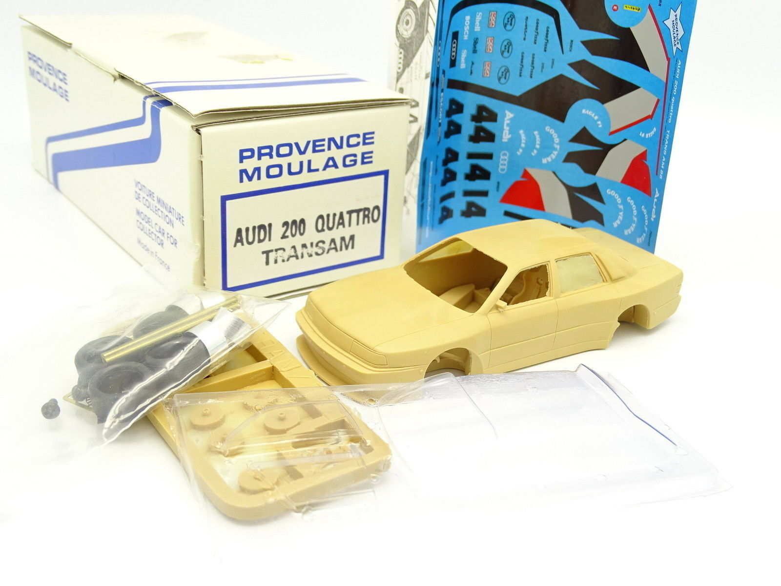 Provence Moulage Kit à Monter 1 43 - Audi 200 Quattro Trans Am 1988