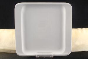 12x-Teller-Servierteller-Flachteller-Porzellan-Weiss-Gastronomiebedarf-ca-31x29cm