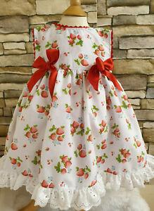 Section SpéCiale Dream Baby Filles Strawberry Doublé Robe D'été-afficher Le Titre D'origine