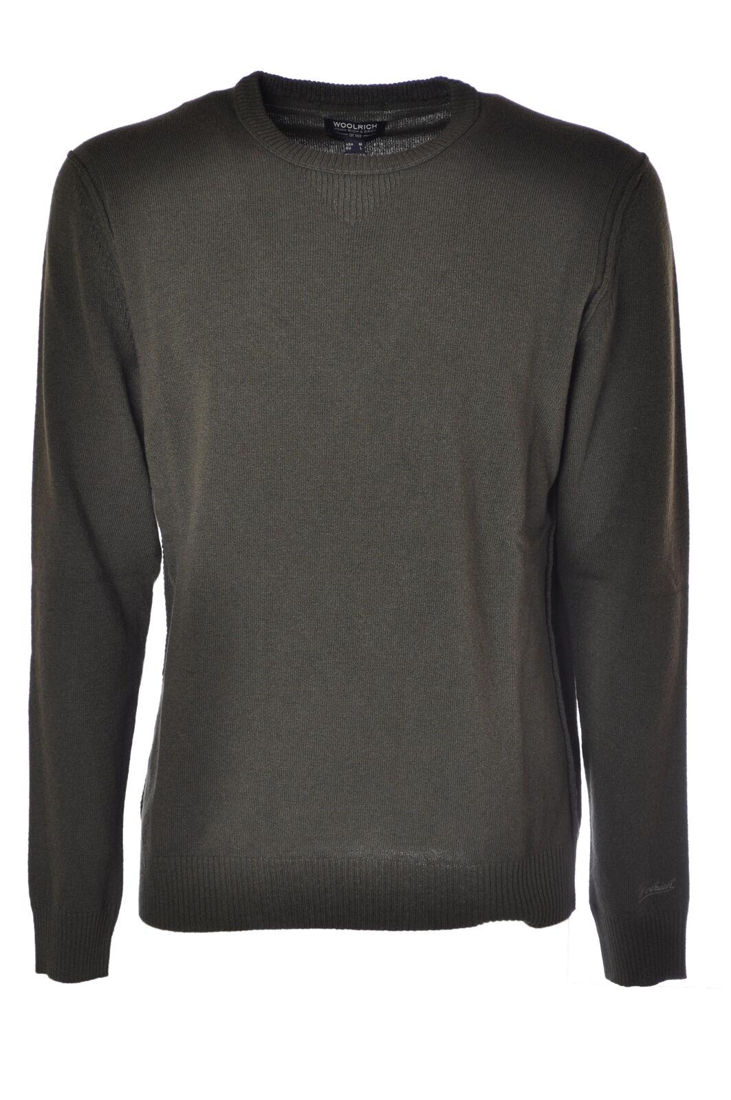Woolrich  -  Sweaters - Male - Grün - 4215627A185428