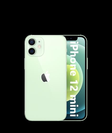 iPhone: Apple iPhone 12 mini 5G 128GB NUOVO Originale Smartphone iOS 14 GREEN Verde