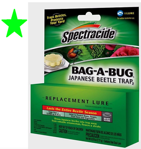 Spectracide-BAG-A-BUG-LURE-Japanese-Beetle-Bug-Insect-Trap-REPLACEMENT-BAIT-New
