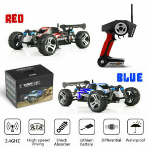 Wltoys A959 1/18 4WD 45KM/H High Speed RC Auto 2.4GHz Off-road Buggy Car Truck