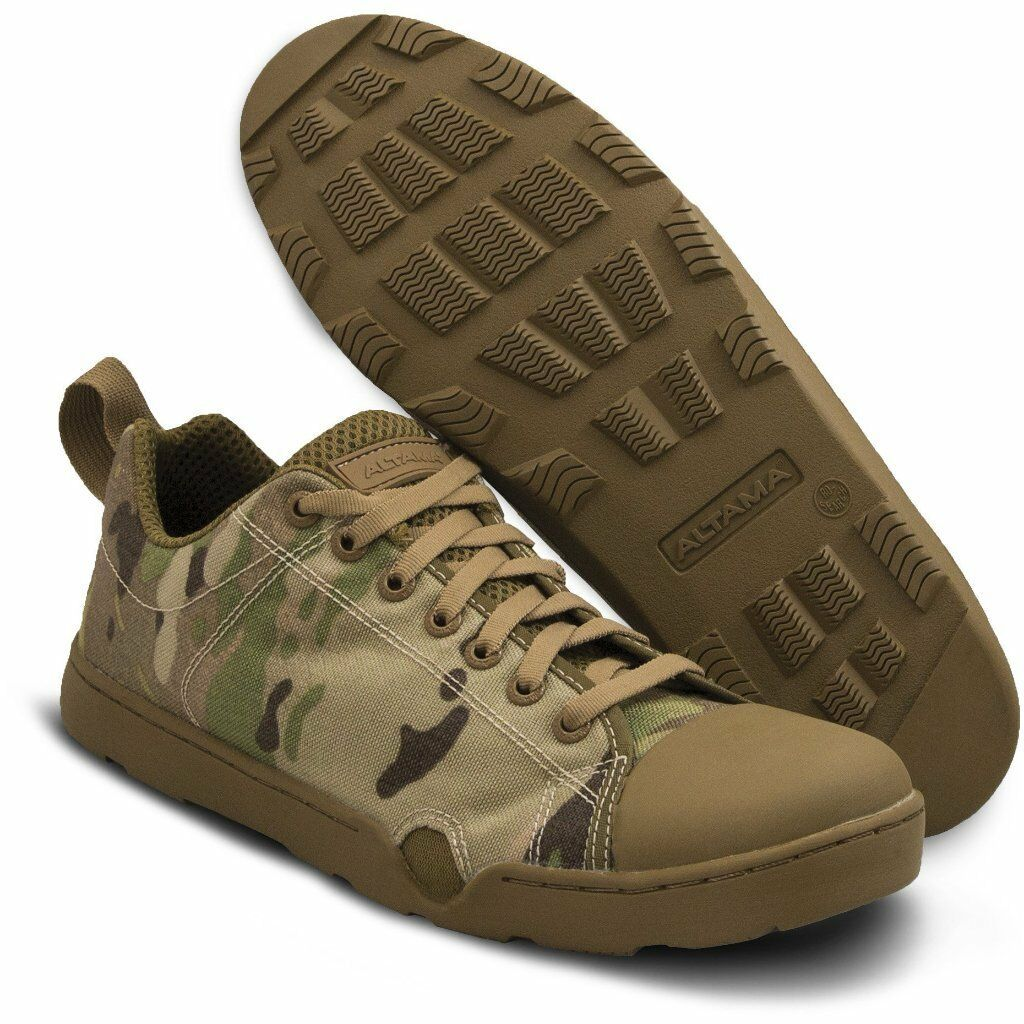 Altama Maritime Special Forces Assault shoes Low Multicam