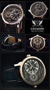 de-luxe-DUAL-TIME-Cavadini-Montre-Homme-Serie-New-York-NEUF