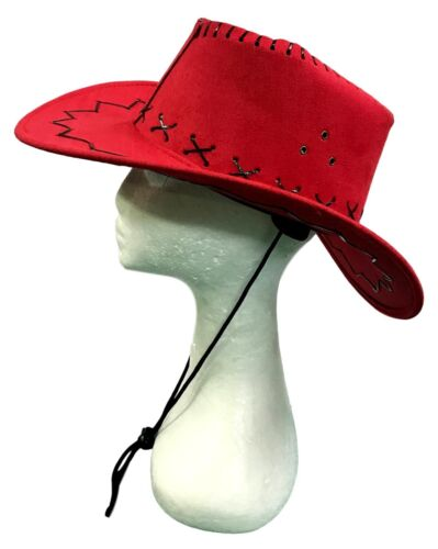 New Adults Western Cow Boy Hat Costume Cowboy Cowgirl Cattleman Hat Party Dress